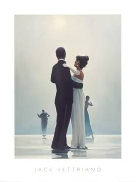 Dance Me To The End Of Love of artist Jack Vettriano, Dance, End, Love