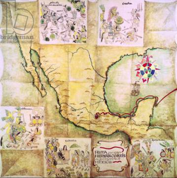 Conquest Of Mexico. during the conquest
