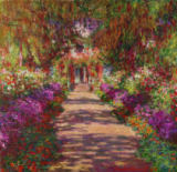 A Pathway in Monet's Garden, Giverny, 1902 von Claude Monet