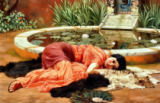 Dolce Far Niente, 1904 von John William Godward