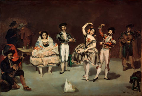 Fine Art Reproduction: Edouard Manet, The Spanish Ballet