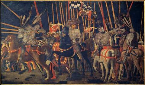 uccello battle of san romano. The Battle of San Romano: