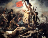 Liberty leading the People of Eug�ne Delacroix