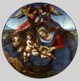 The Holy Family with two Angels of Piero di Cosimo