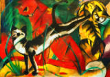 Three cats of Franz Marc