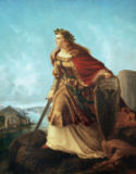 Germania on the Watch on the River Rhine of Lorenz Clasen