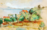 La baie de L'Estaque of Paul C�zanne