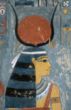 Goddess Hathor / Egyptian Painting of AKG Anonymous