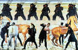 Students of Jena in the fight for freedom against Napoleon 1813 of Ferdinand Hodler