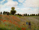 Les Coquelicots of Claude Monet
