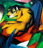 Der Tiger of Franz Marc